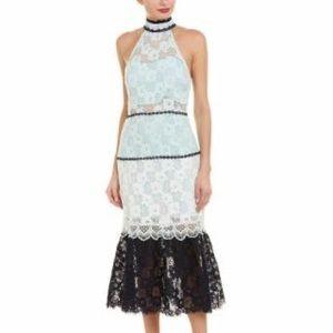 Foxiedox Amelia Midi Lace Dress size Medium